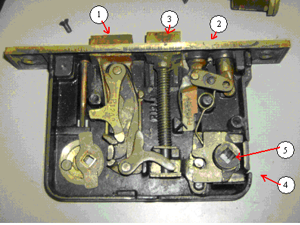Mortise Lock Part Identification
