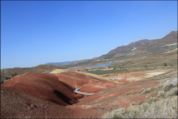 Painted Hills a la Piza