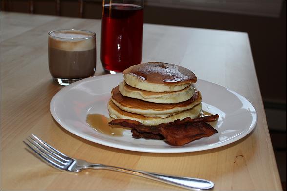 delicious delicious pancakes
