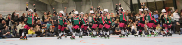Roller Derby Introduction Lap
