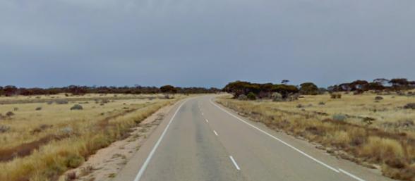 A random spot of Sander's trip via Google Streetview