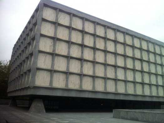Beinecke Library Exterior
