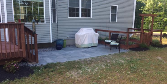 The Completed Patio