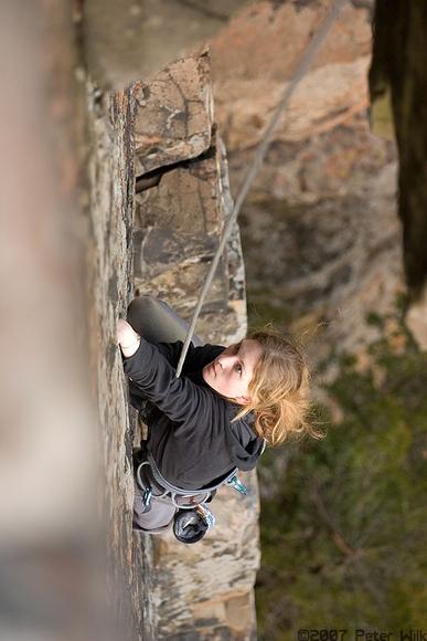 Irene, a climbing fiend