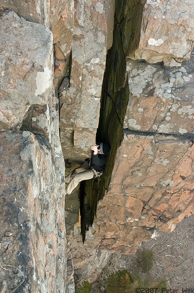 It was a comfortable climb