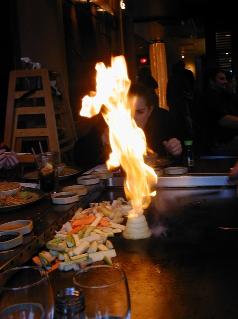 Onion inferno!