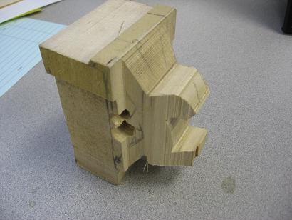 Block o wood