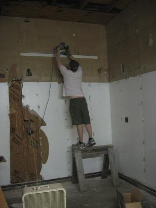 Sander with tools