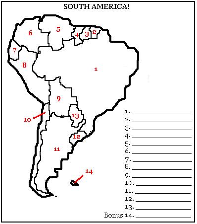 South America Quiz